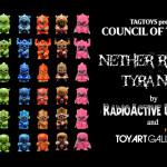 TOY ART GALLERYから新作が到着! 今回はRadioactive Uppercut氏デザインの「Nether Realm Tyrants」を現地時間2020年6月19日12時より発売開始!