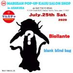2020年7月25日に開催のマルサン「MARUSAN POP-UP KAIJYU SALON SHOP in ASAKUSA」限定情報第2弾!