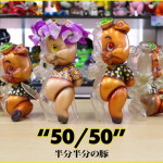BlackBook Toyが最新作「50/50 Piggums one off & micro run by BBT」を抽選受付開始!