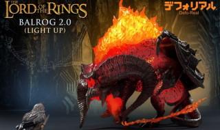 X-PLUSが[デフォリアル]で冒険ファンタジー超大作の映画『ロード・オブ・ザ・リング』登場の「バルログ2.0 (発光Ver.)」を2020年7月30日17時締切で予約受付中!