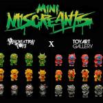 TOY ART GALLERYから新作が到着! 今回はMiscreation Toysデザインの「MINI MISCREANTS」を現地時間2020年7月17日12時より「Madness Sale」開始!