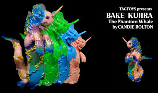 TOY ART GALLERYが現地時間2020年7月24日12時よりCandie Bolton氏デザインの新作「BAKE-KUJIRA」を発売開始!