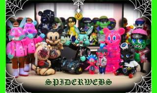 2020年8月7日0時よりBlackBook Toyが「Spiderwebs one offs by Marvel Okinawa」を抽選受付開始!